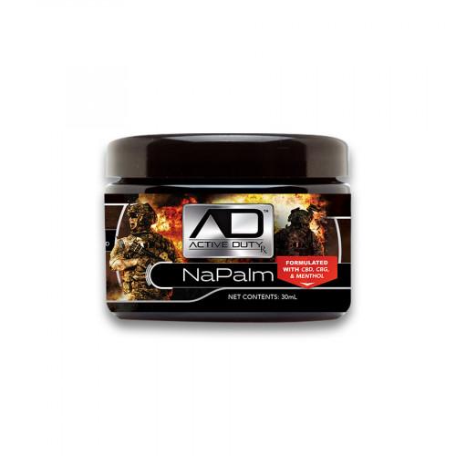 Active Duty RX™ NaPalm Hemp Topical Balm with CBD, CBG, & Menthol