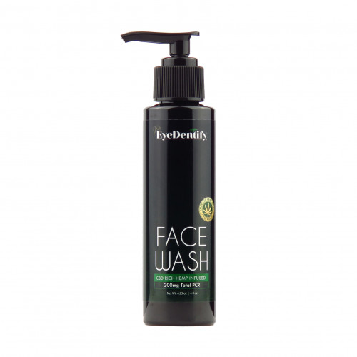 EyeDentify™ by J Early Natural Hemp Infused Face Wash