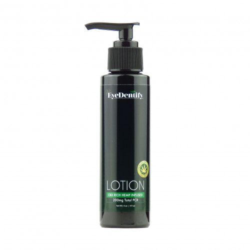 EyeDentify™ by J Early Natural Hemp Infused Lotion