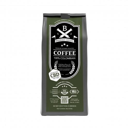 Barrage Coffee™ 100% Colombian CBD Infused Coffee