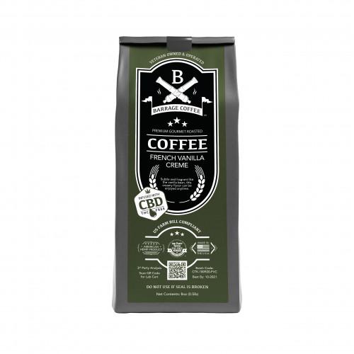 Barrage Coffee™ French Vanilla CBD Infused Coffee
