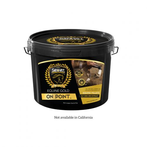 Sat-A-Vet™ Gold On Point Hemp Horse Pellets 5LB