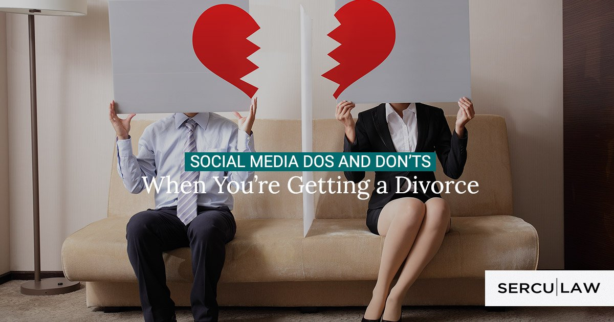 Social Media Dos and Don'ts When You're Getting a Divorce