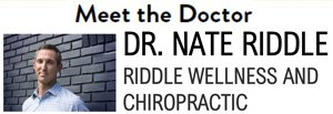 Meet the Doctor, Dr. Nate Riddle