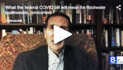 What the federal COVID bill will mean for Rochester businesses, consumers