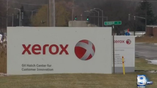 How many jobs is Xerox cutting in Rochester?