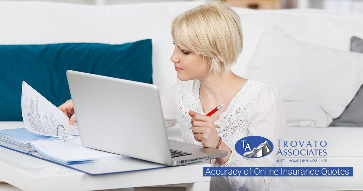 The Accuracy of Online Insurance Quotes