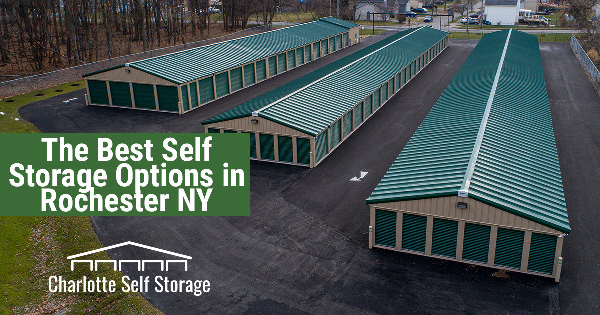 The Best Selection of Self-Storage Units in Rochester NY