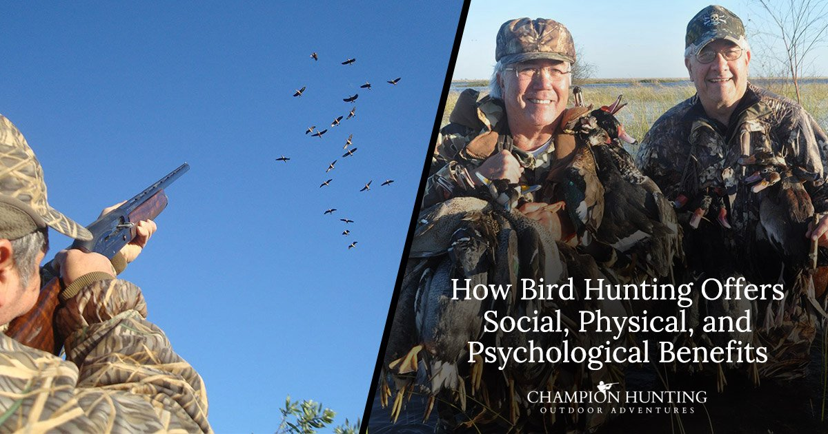 How Bird Hunting Offers Social, Physical, and Psychological Benefits