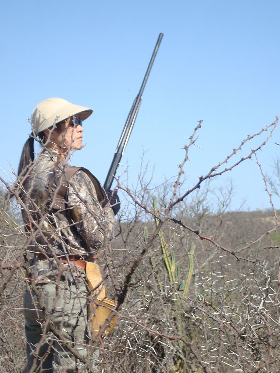 Female Dove Hunter