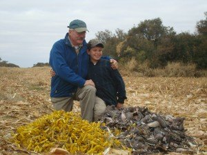 Father and Son Hunting Excursion in Argentina