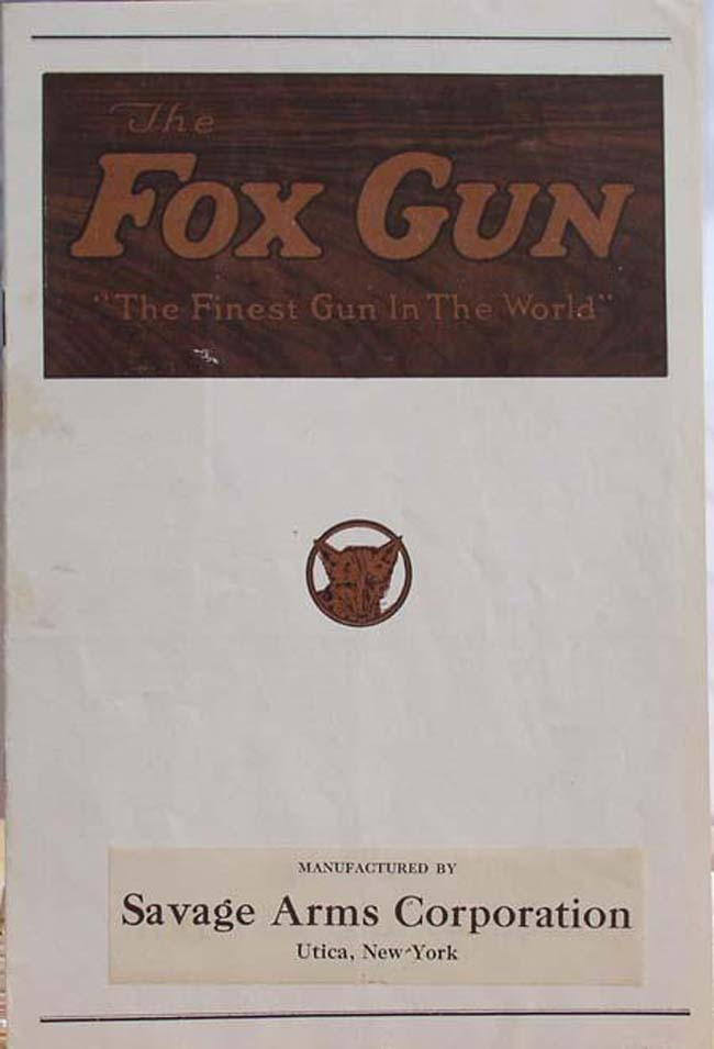First Savage Catalog 1928-1930