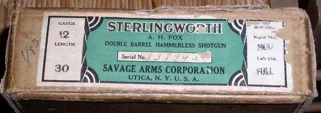 Sterlingworth Savage Era Box