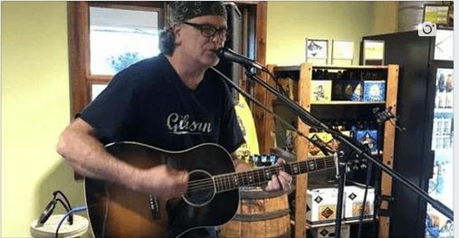 Bob Begley Jams out