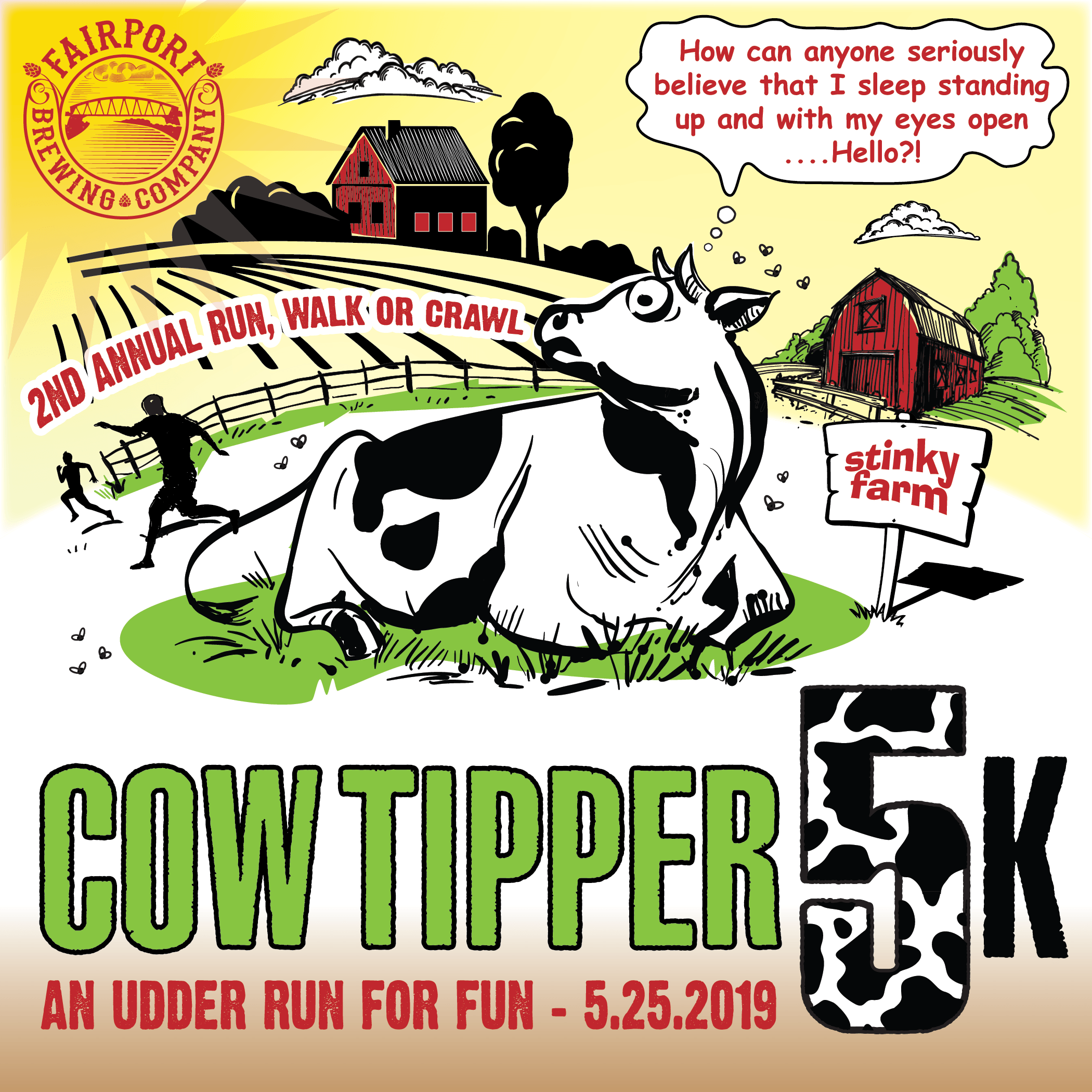 FBC Cowtipper 5k 2019 - Time to Register!