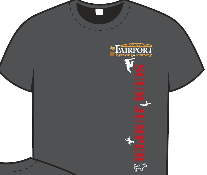 Fairport Brewing Scum Jumper T-Shirt
