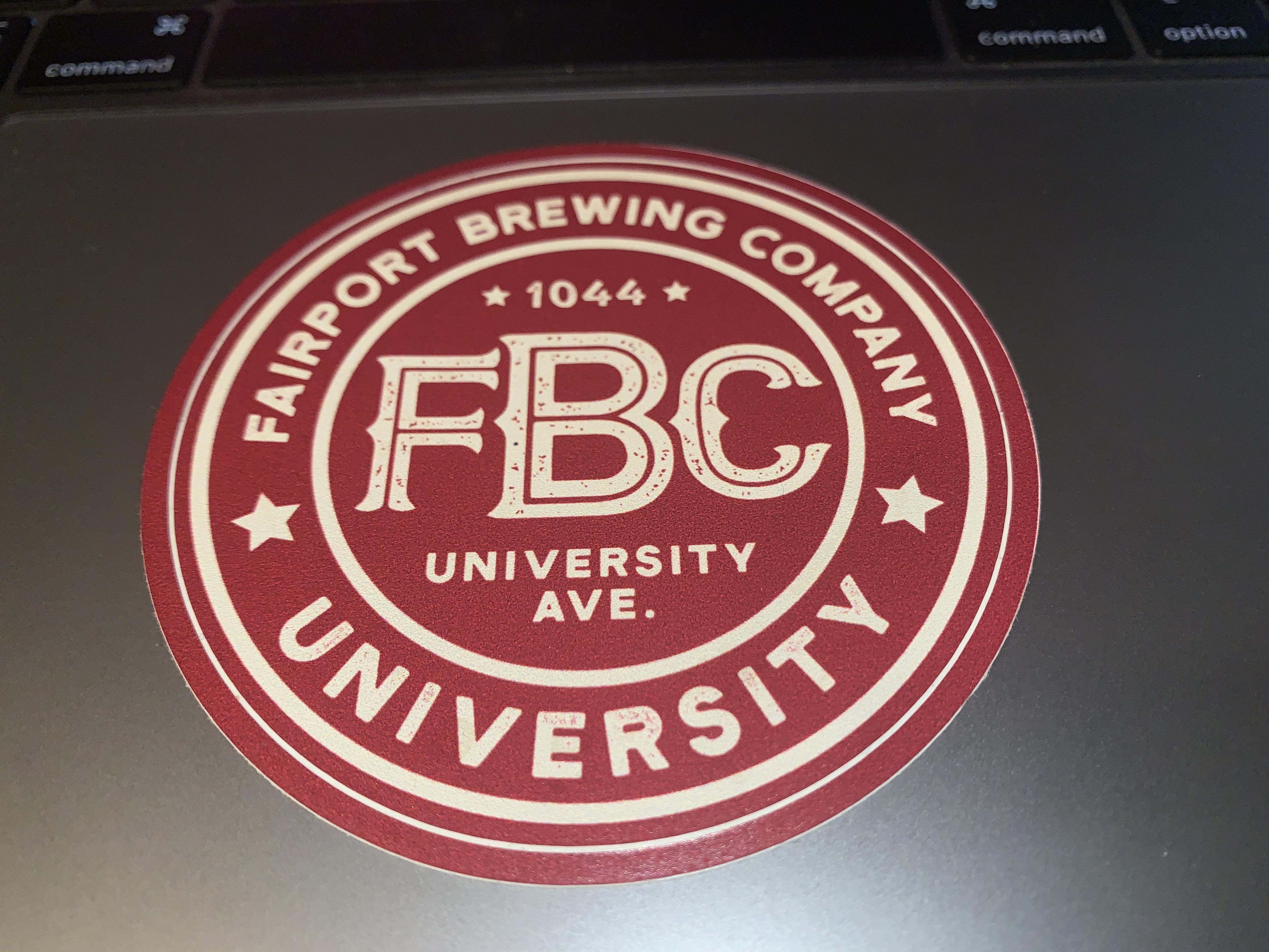 FBC University Sticker