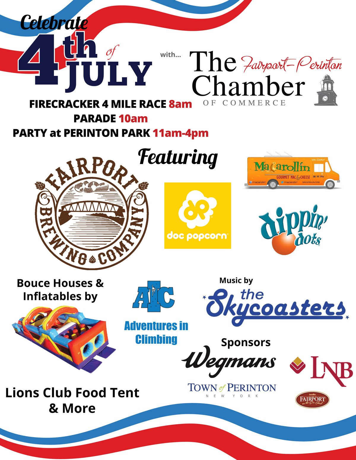July 4th, 2019 Parade & Party in the Park