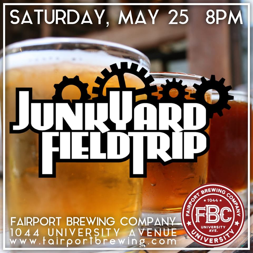 Junkyardfieldtrip at Fairport Brewing University