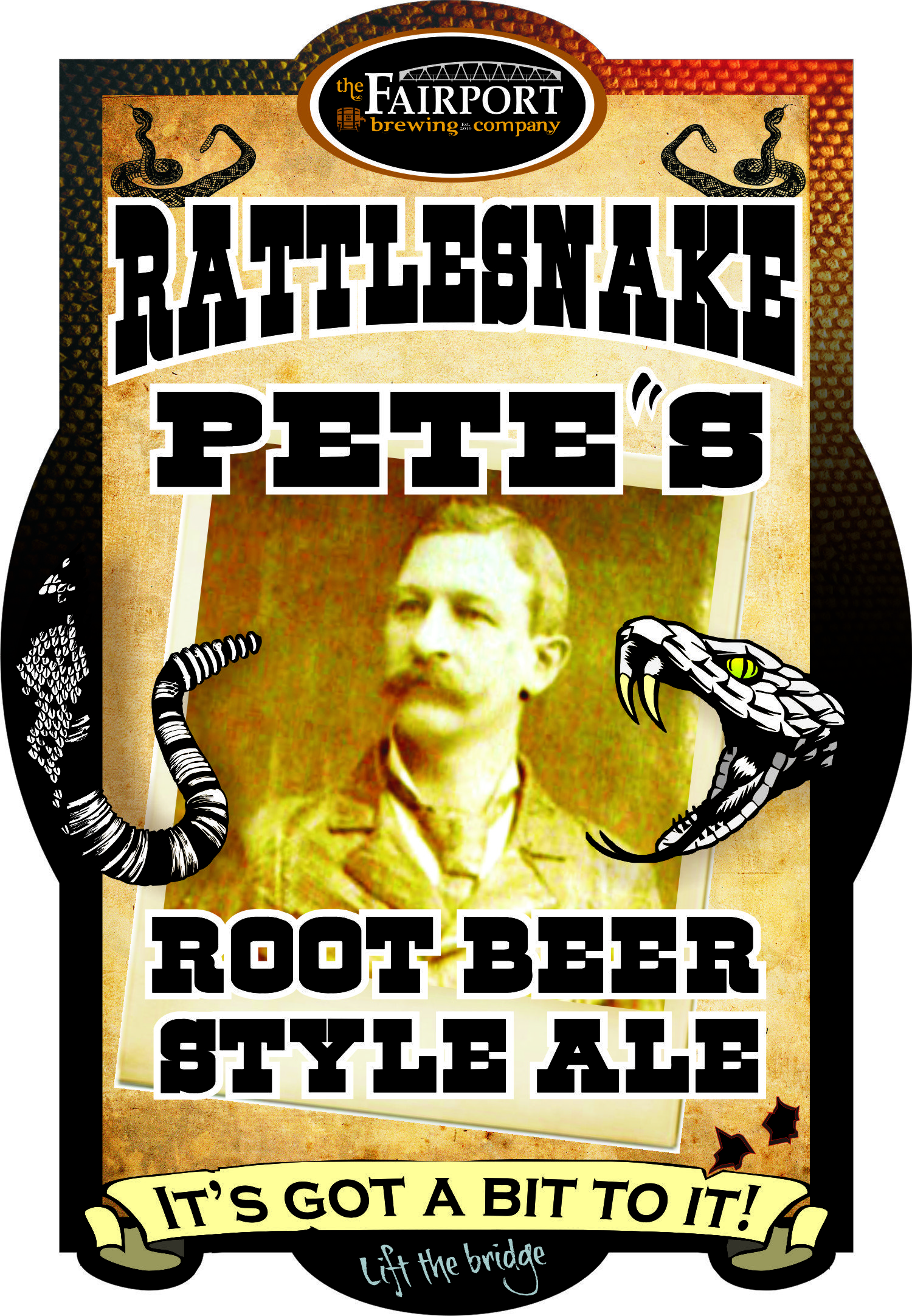 Rattlesnake Pete's Root Beer