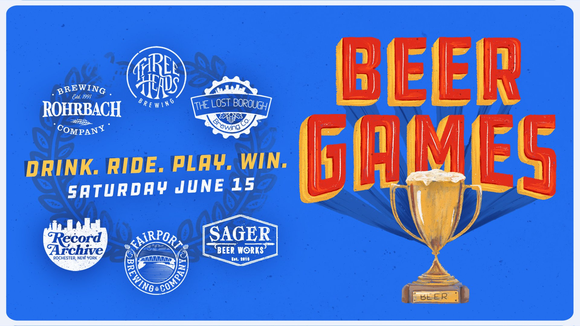 The Beer Games: Rochester Real Beer Week