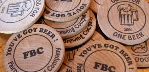 5 Beer Tokens