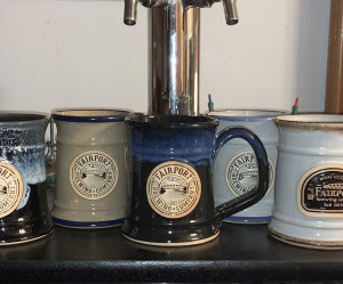 Official Fairport Brewing 22 oz Mug