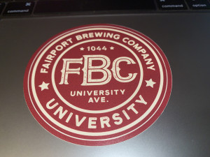 FBC University Sticker