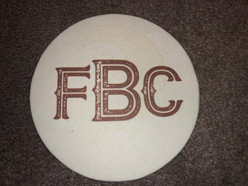 FBC 2 Sided Coaster