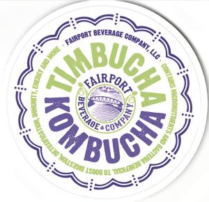 Growler of Timbucha Kombucha