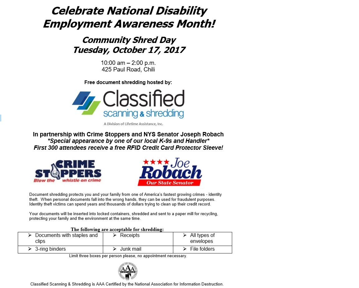 Celebrate National Disability Employment Awareness Month!