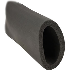 "3-1/2"" ID X 1/2"" Wall Insulation for Flexible Duct (6' Lengths)"