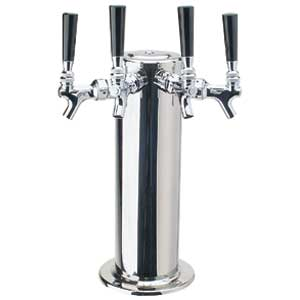 "4 Product 4"" Wrap-around S/S Tower Glycol Ready"