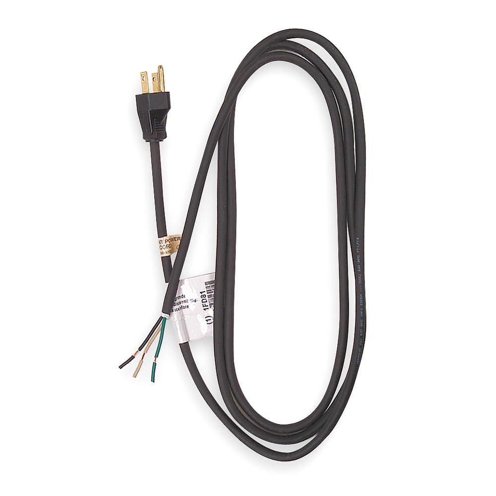 8' Cord & Plug