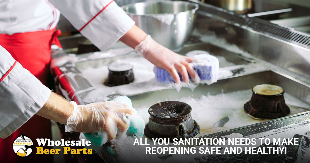 All your Sanitation Needs to Make Reopening Safe and Healthy!