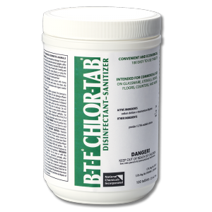 BTF Tablet Chloromelamine Sanitizer - 100 count