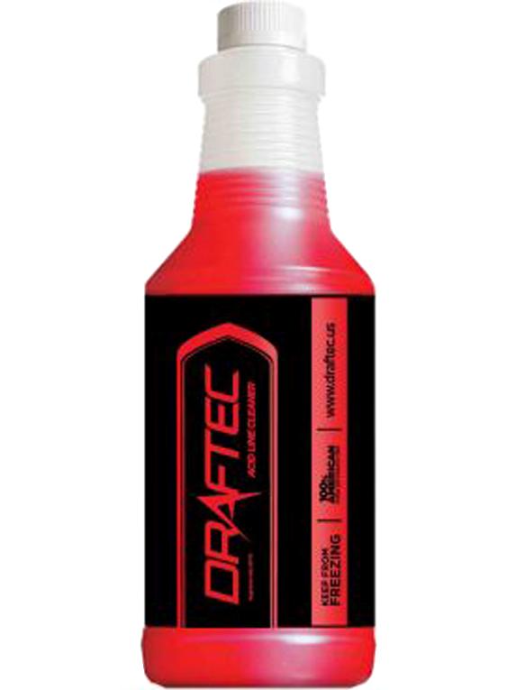 Draftec Red Dye Acid Line Cleaner - 32 oz