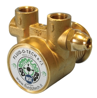 105 Gph New Brass Rotary Vane Clamp-on Pump Without Strainer