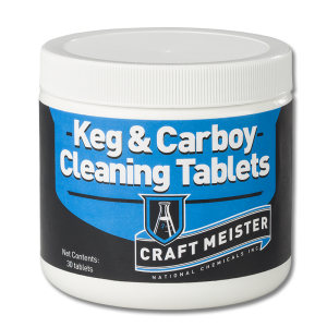 Craft Meister Keg and Carboy Tablets - 30 Count