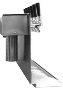 Laser Cut Underbar Dispenser With Drip Tray (Air Shaft Ready)