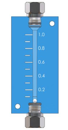 Single In-Line Leak Indicator