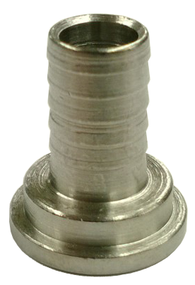 "3/8"" Barb Stainless Steel Barbed Beer Hose Nipple"