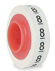 Replacement Number Roll For STD-09 Tape Dispenser (0-9)