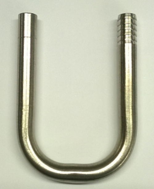 """""""J"""" Hook For FOBs And Push In Fittings (3/8"""" JG x 3/8"""" Barb)"""