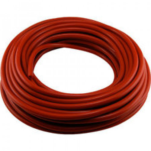"5/16"" ID Red Vinyl Tubing - 100' Roll"