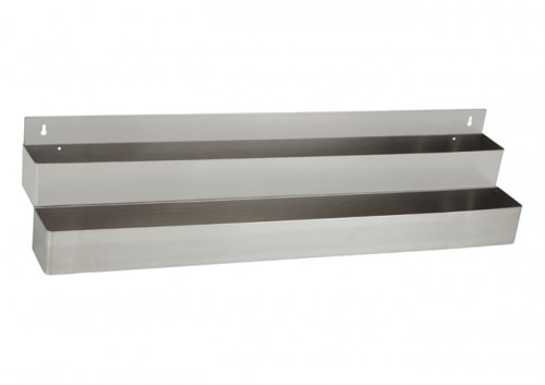 Double Bar Speed Rail, Stainless Steel