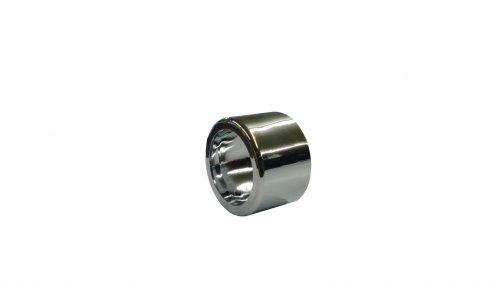 Chrome Plastic Curved Spacer