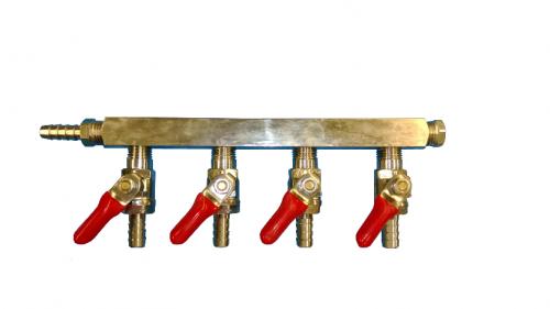 Four Way Air Distributor Bar