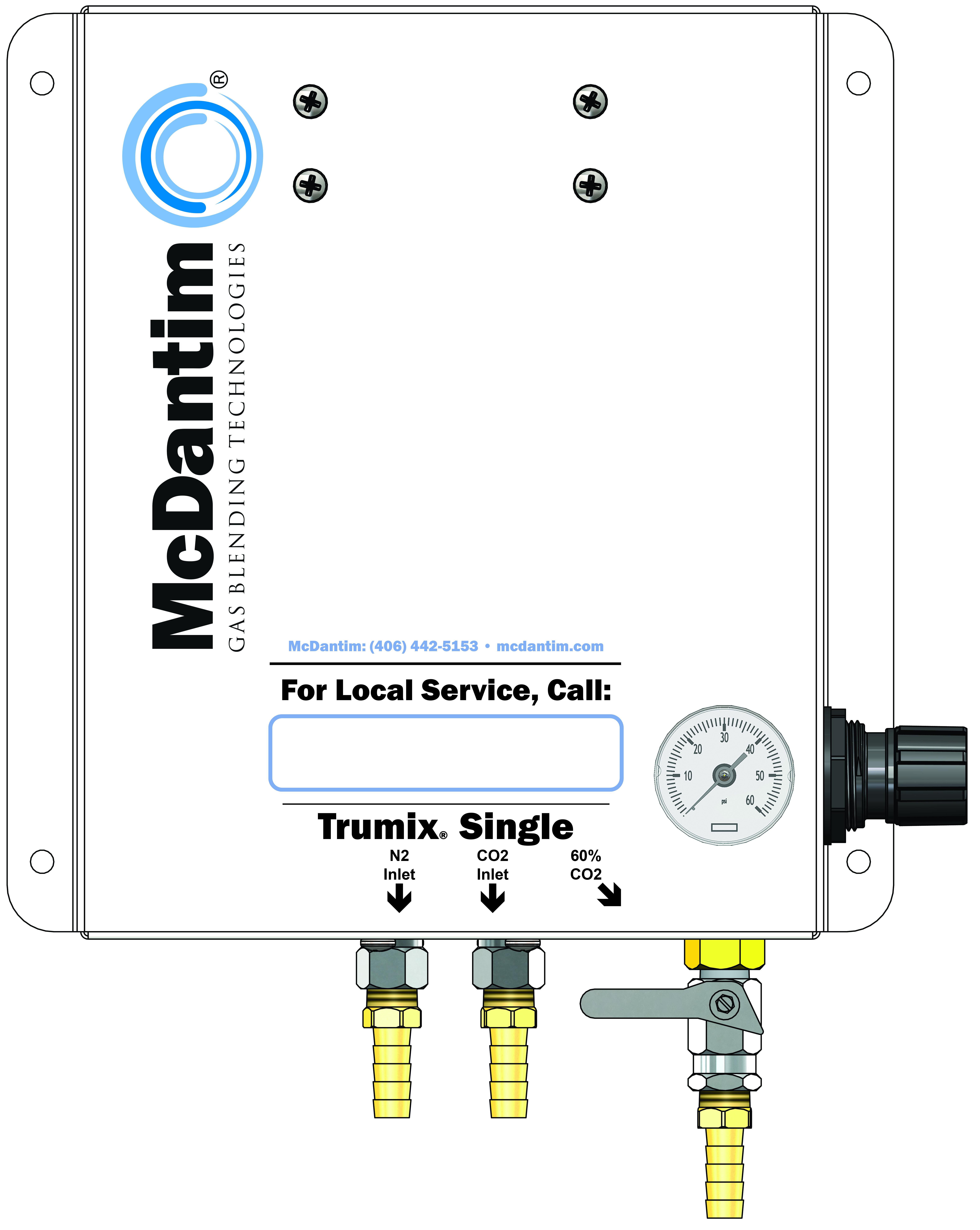 McDantim Single Blender Trumix