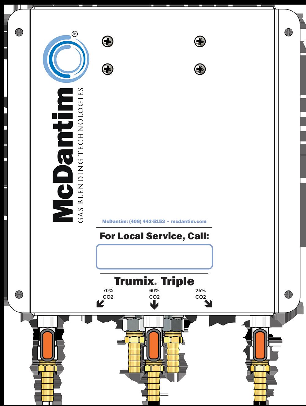 McDantim Triple Blender Trumix